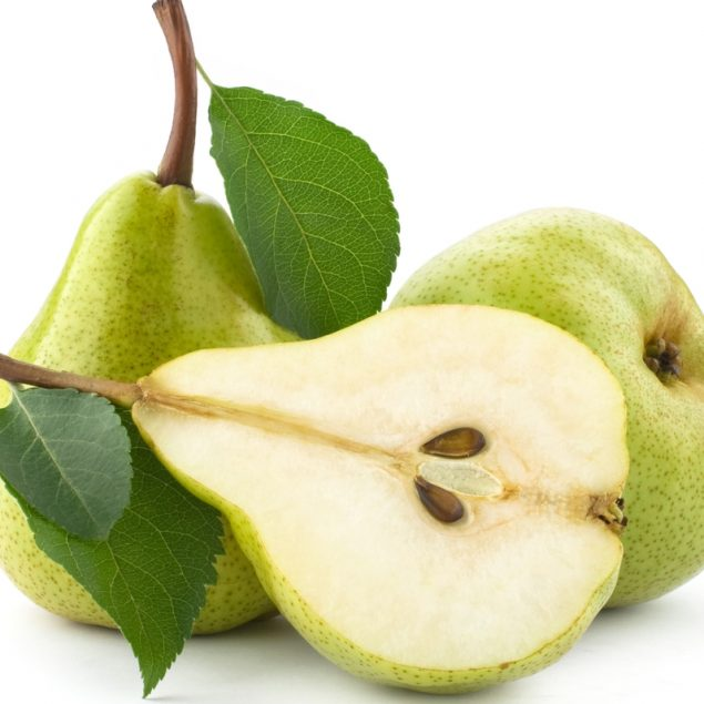 Valor Nutricional de la Fruta Pera